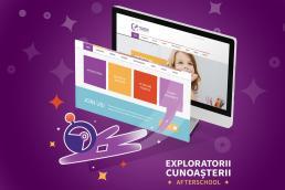 exploratorii cunoasterii web design