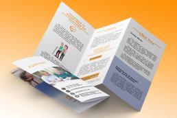 design flyer saino