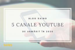 articol saino canale youtube preferate SAINO