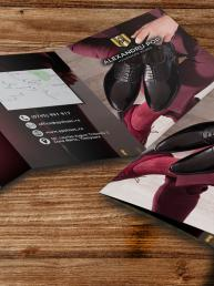 design flyer saino timisoara