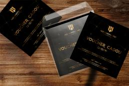 design vouchere campanie marketing