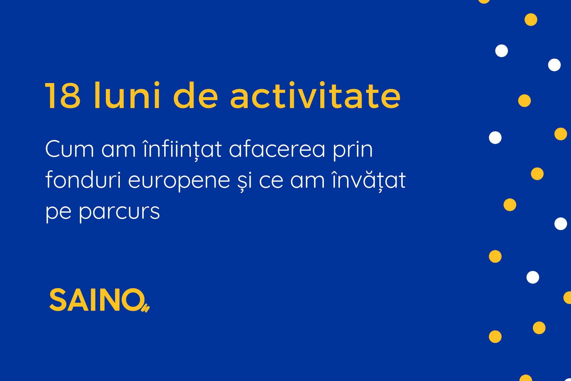 SAINO, firma de publicitate, afacere finantata prin fonduri europene