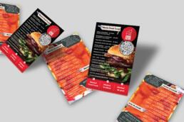 design pentru meniu fast food